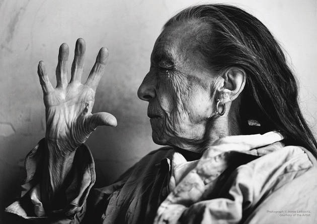 Annie Leibovitz, Louise Bourgeois, New York City, 1997