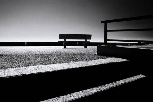 Bench with a view by Erwin Bosman