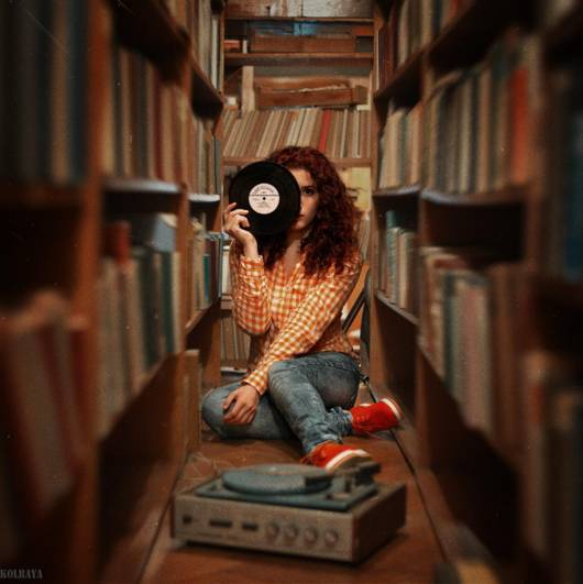In the library © Alexandr Kolbaya
