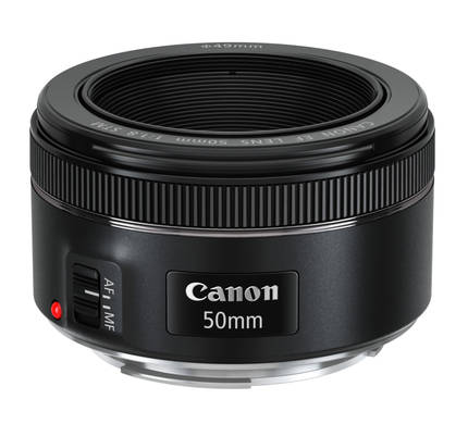 Canon EF 50 f/1.8 STM - 1.0 МБ
