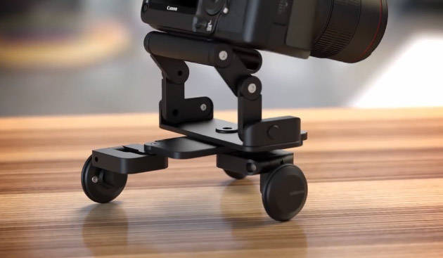 Складная тележка-долли Edelkrone PocketSkater 2 для видеографов