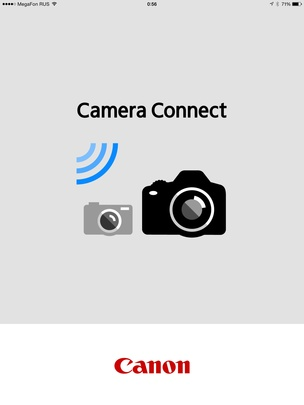 Приложение Canon Camera Connect