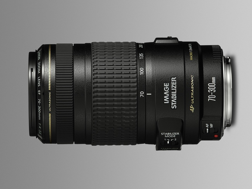 Canon EF 70-300 f/4-5.6 IS USM - 1.0 МБ