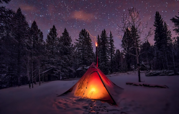 Winter Camping © Lars Lebe