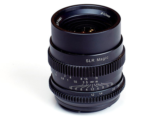 SLR Magic CINE 35mm F1.2