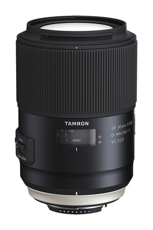 Новый Tamron SP 90mm f/2.8 Di Macro 1:1 VC USD 2016 (F017)