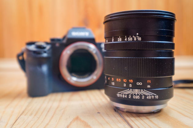 объектив Mitakon Speedmaster 50 mm f/0.95 Sony E - Тест объектива Mitakon Speedmaster 50mm f/0.95