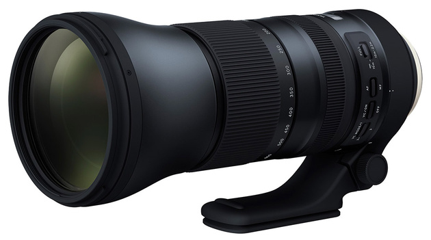 Объектив Tamron SP 150-600mm Di VC USD G2 и два телеконвертера
