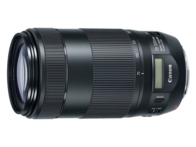 Объектив Canon EF 70-300mm F/4.5-5.6 IS II USM – первый у Canon с ЖК-дисплеем