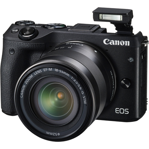 Canon EOS М3 с объективом EF-M 18-55mm f/3.5-5.6 IS STM