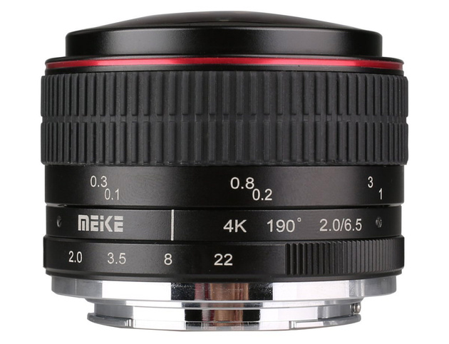 Объектив Meike 6.5mm Ultra Wide f/2.0 Fisheye MFT