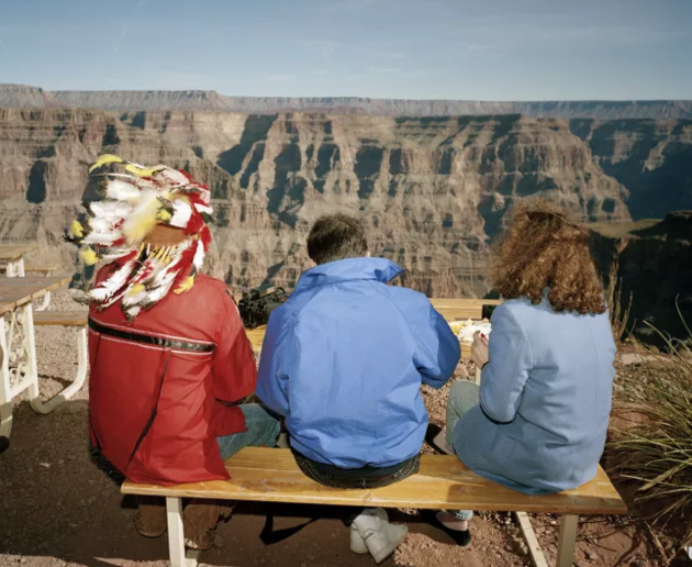 © Martin Parr / Magnum Photos / Rocket Gallery The Grand Canyon, Arizona, USA, 1994. From 'Small World'.