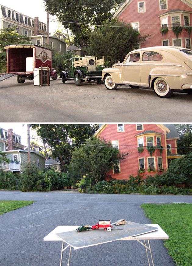 http://www.boredpanda.com/miniature-car-forced-perspective-elgin-park-michael-paul-smith/