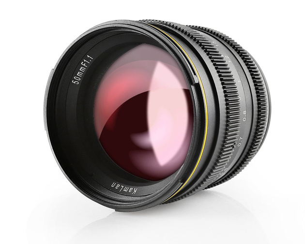 Объектив SainSonic Kamlan 50mm F1.1 для камер APS-C  – ценой $170