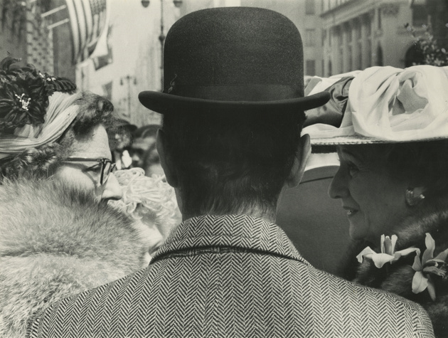 Fifth Avenue (man with two ladies), c. 1959