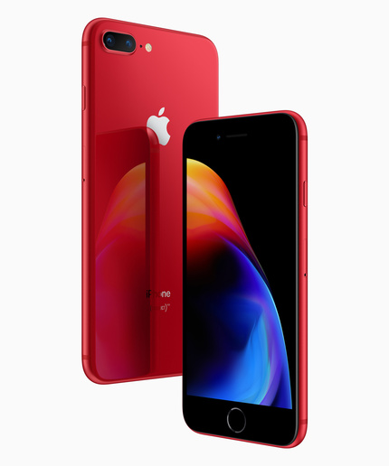 И снова Красный: iPhone 8 и iPhone 8 Plus (PRODUCT) RED Special Edition