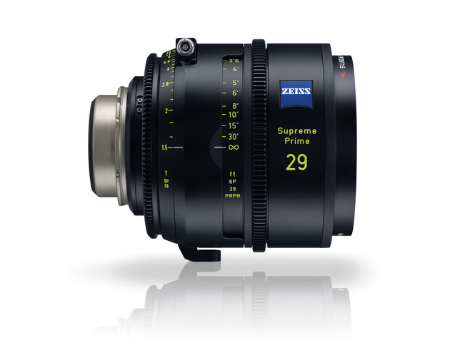 Новая линейка объективов Zeiss Supreme Prime