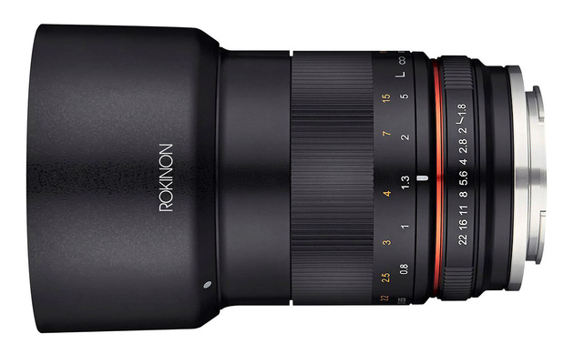 Samyang MF 85mm F1.8 ED UMC CS для APS-C беззеркалок