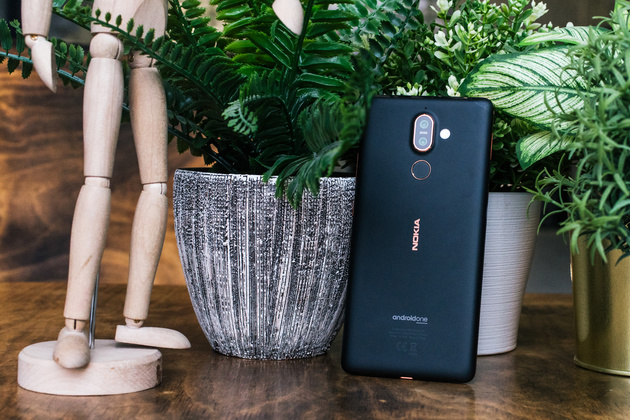 Android 9 Pie доступен на Nokia 7 Plus