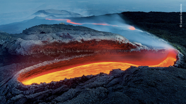 Etna's river of fire by Luciano Gaudenzio, Italy Winner 2020, Earth's Environments